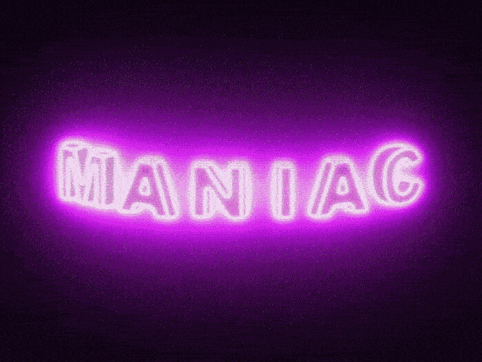 Maniac Title Sequence